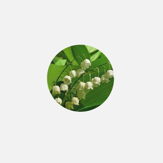 Cute Lily of the valley Mini Button