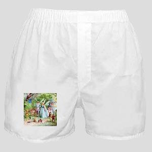 THE MARRIAGE OF THUMBELINA Boxer Shorts