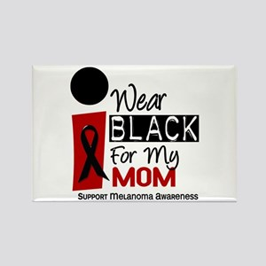 I Wear Black For My Mom 9 Rectangle Magnet