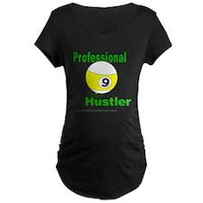 9 Ball Hustler Maternity T-Shirt