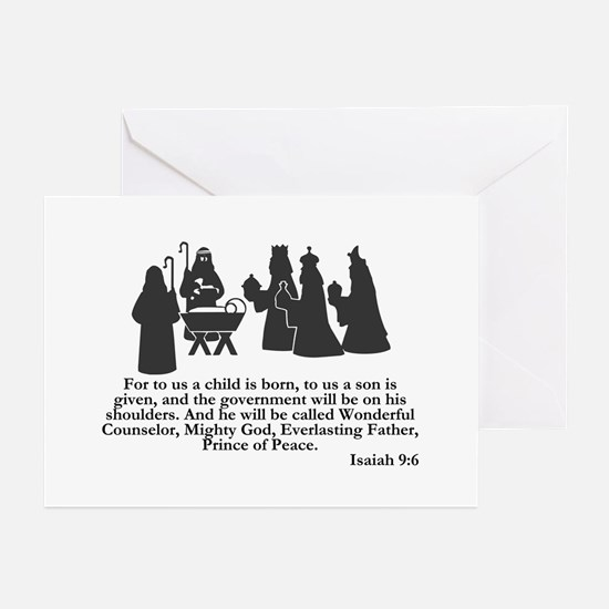 Wonderful Counselor -  Greeting Cards (Package of