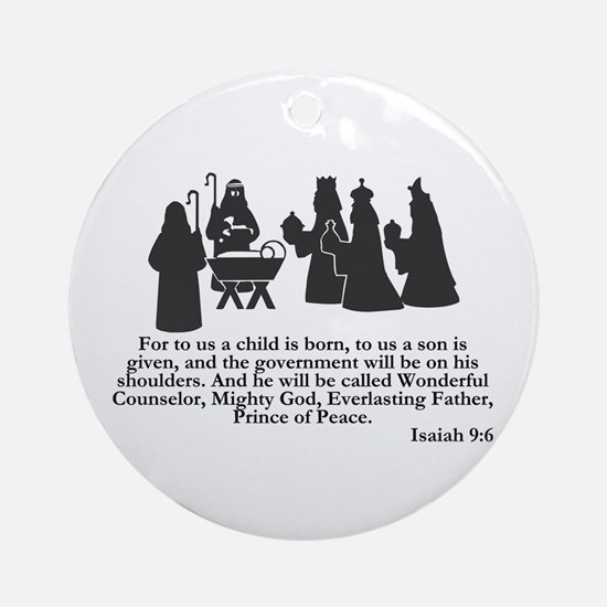 Wonderful Counselor -  Ornament (Round)