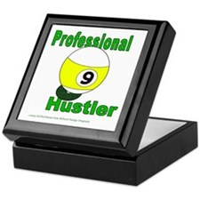 9 Ball Hustler Keepsake Box