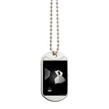 Tricky 8 Ball Illusion 3D Dog Tags
