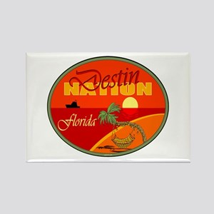 Destin Florida Rectangle Magnet