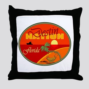 Destin Florida Throw Pillow