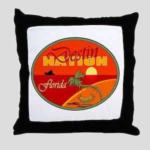 Destin Florida Throw Pillow