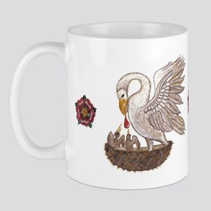 Royal Pelican Rose Mug