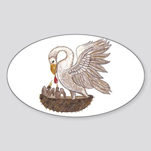 Pelican Sticker (Oval)