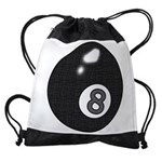 8 Ball Drawstring Bag