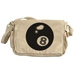 8 Ball Messenger Bag