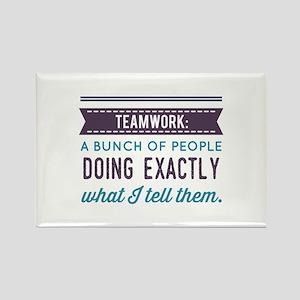 Teamwork: Magnets