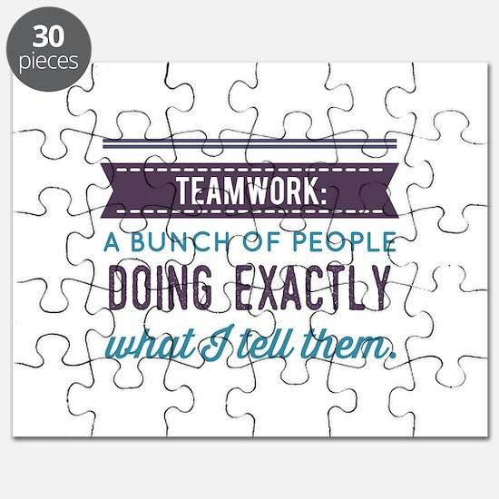 Teamwork: Puzzle