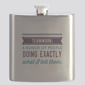 Teamwork: Flask
