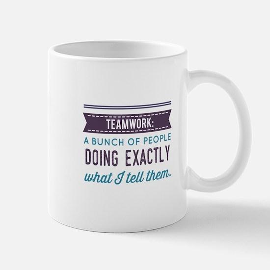 Teamwork: Mugs