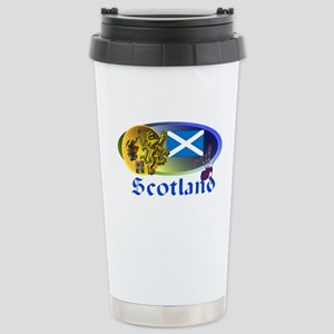 Dynamic Scotland' Stainless Steel Travel Mug