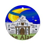 Starry Night Alamo Ornament (Round)