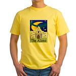 Starry Night Alamo Yellow T-Shirt