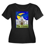 Starry Night Alamo Women's Plus Size Scoop Neck Da