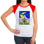 Starry Night Alamo Women's Cap Sleeve T-Shirt