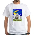 Starry Night Alamo White T-Shirt