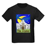 Starry Night Alamo Kids Dark T-Shirt