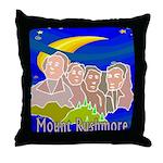 Starry Night Alamo Throw Pillow