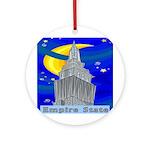 Starry Night New York Ornament (Round)