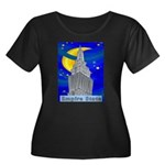 Starry Night New York Women's Plus Size Scoop Neck