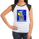 Starry Night New York Women's Cap Sleeve T-Shirt