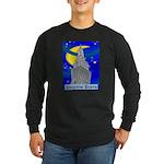 Starry Night New York Long Sleeve Dark T-Shirt