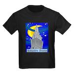 Starry Night New York Kids Dark T-Shirt