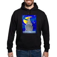 Starry Night New York Hoodie (dark)