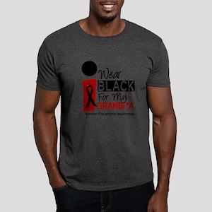 I Wear Black For My Grandpa 9 Dark T-Shirt