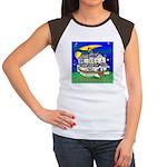 Collingswood NJ Women's Cap Sleeve T-Shirt