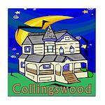 Collingswood NJ Tile Coaster