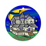 Collingswood NJ Ornament (Round)
