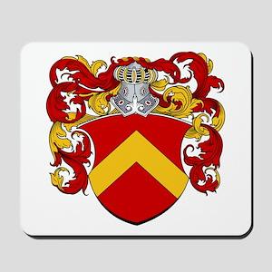 Van Axel Coat of Arms Mousepad