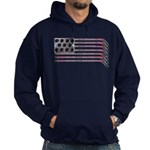 US Hockey Flag Hoodie (dark)