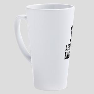 I Love Aeronautical Engineering 17 oz Latte Mug