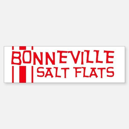 Retro Bonneville Salt Flats-R Bumper Bumper Bumper Sticker