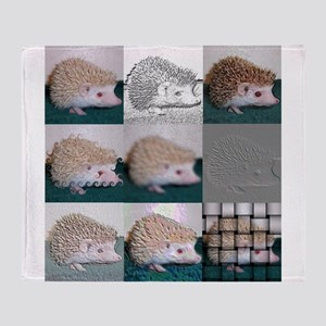 hedgehog Throw Blanket