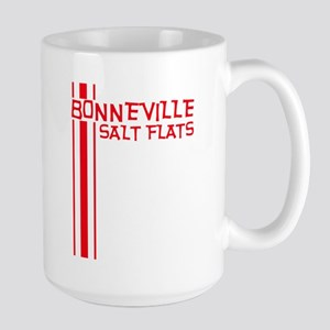 Retro Bonneville Salt Flats-R Large Mug