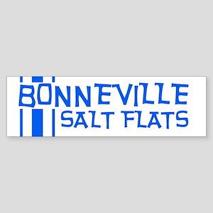 Retro Stripe-Bonneville Salt Bumper Sticker
