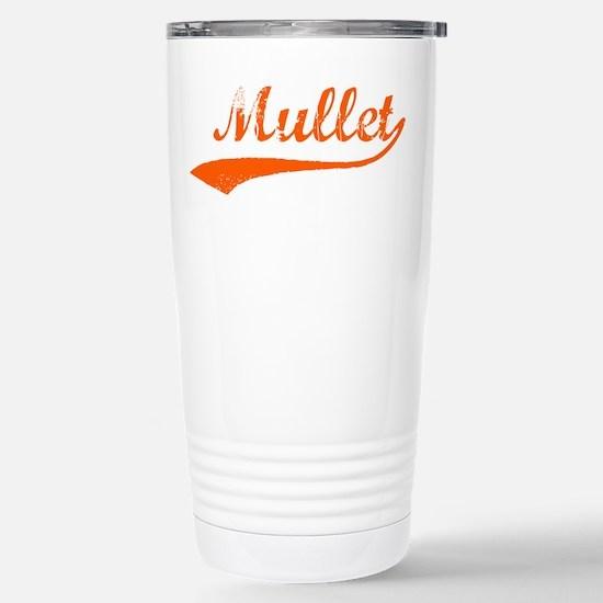 Power in the Mullet Stainless Steel Travel Mug