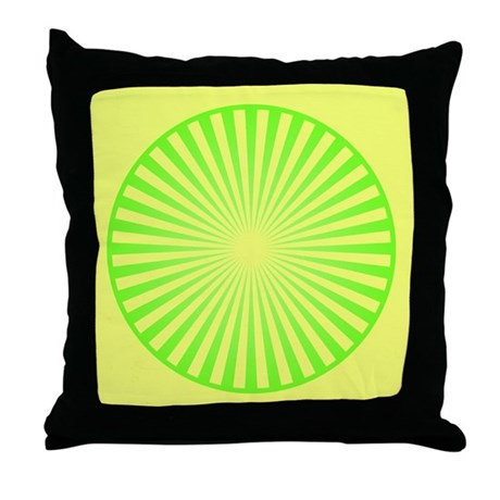 Limey Throw Pillow