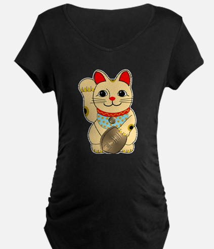 Gold Maneki Neko T-Shirt