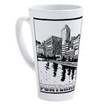 Portland 17 Oz Latte Mug