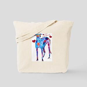 Love a Greyhound Tote Bag