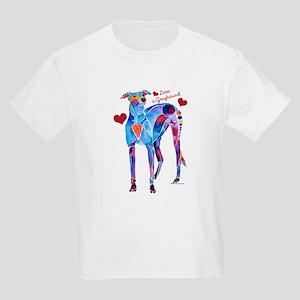 Love a Greyhound Kids Light T-Shirt